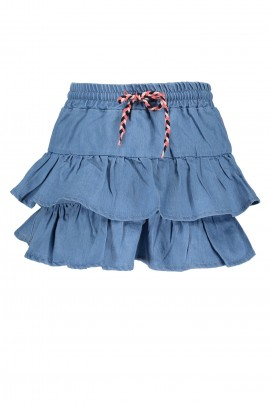 Kids Girls Denim skirt layers