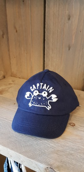 Boys cap captain crab