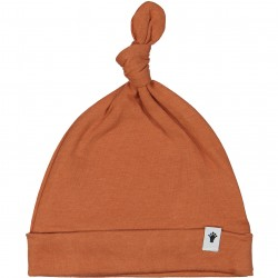 Klein hat with knot brown